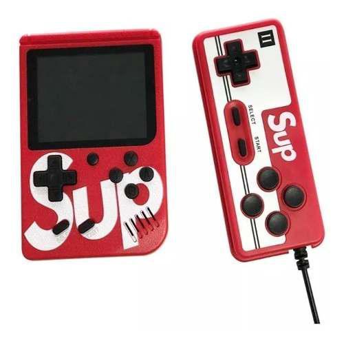 Consola videojuegos sup 1 control game box 400 en 1