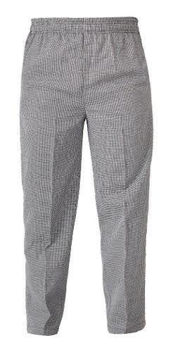 Elástico trabaja pantalones para restuarante / chef unisex