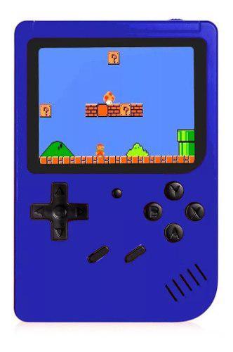 Game box sup 400 juegos mini consola recargable cable + av