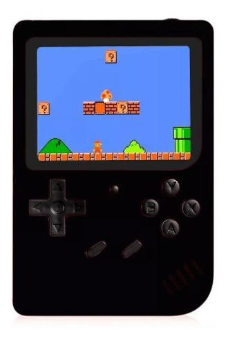 Game box sup 400 juegos mini consola recargable + cable av