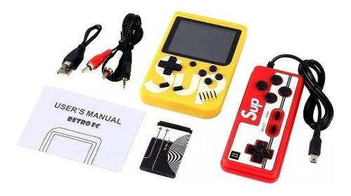 Mini Consola Portatil Game Box Retro 400 Juegos + Control