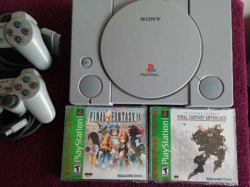 Playstation 1 juegos sellados final fantasy sin consola.