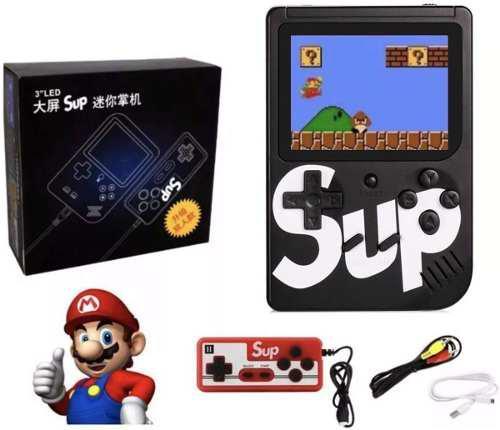 Sup gamebox 400 en una consola de juegos portátil 2 player