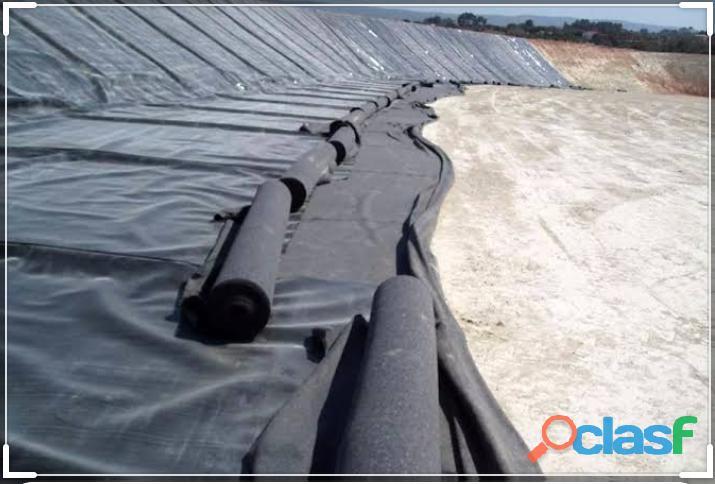Membrana geotextil para taludes