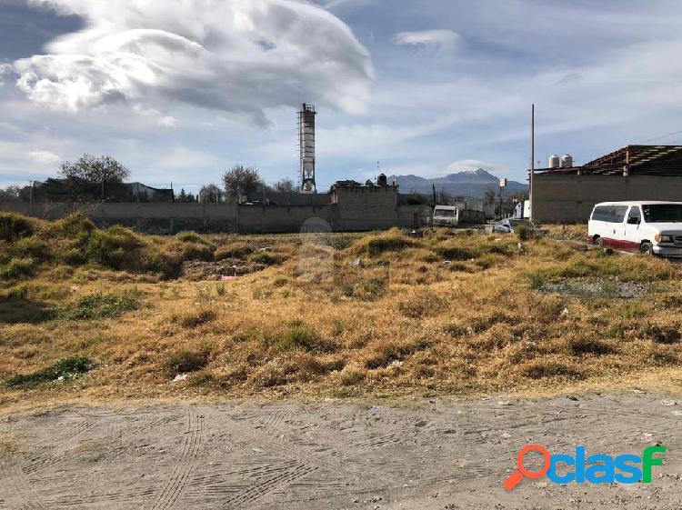 Terreno habitacional en venta en san buenaventura, toluca, méxico