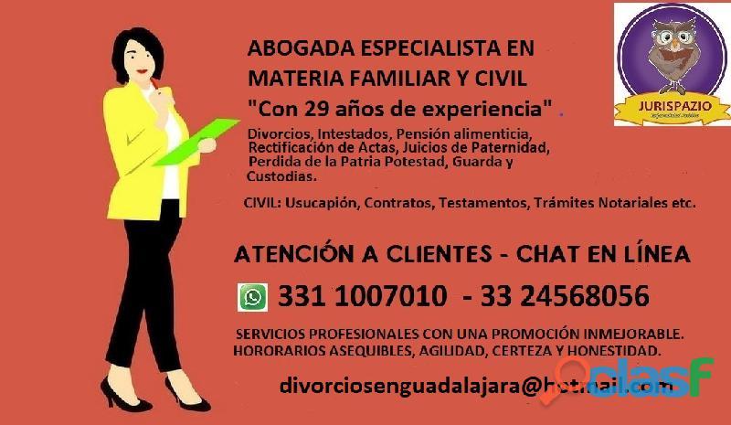 ¿Necesitas divorciarte a la brevedad? Abogada en Guadalajara 1