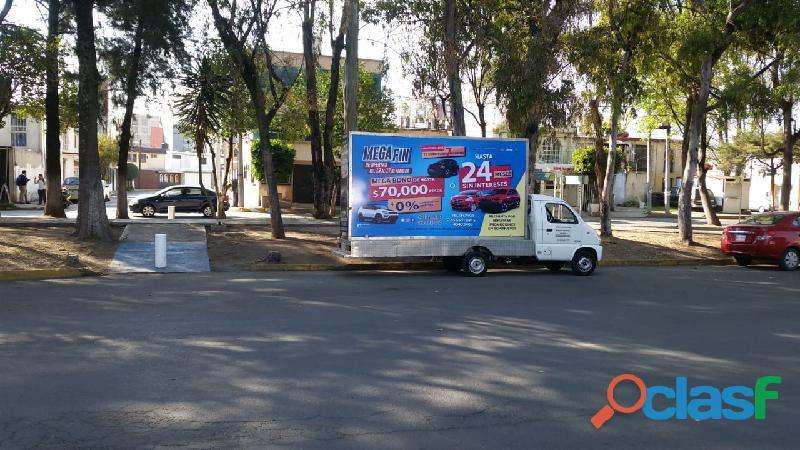 Vallas Móviles Innovadoras en Tuxtepec, Oaxaca