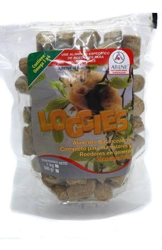 Abene loggies alimento hamster comida roedores pienso 500gr*