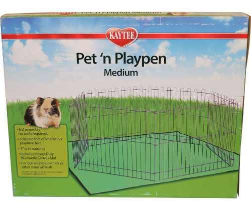 Corral mediano para mascotas erizos hurones cuyo rata kaytee