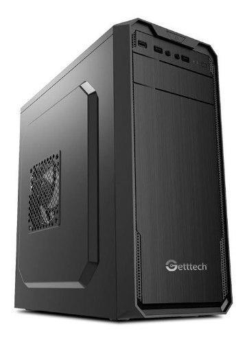 Gabinete Getttech Atx/matx Fuente 500w Negro Gg1803 /v /v