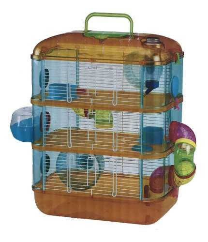 Jaula para hamster 3 pisos # 9649