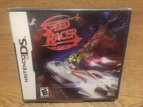 Juego nintendo ds speed racer the videogame nunca abierto
