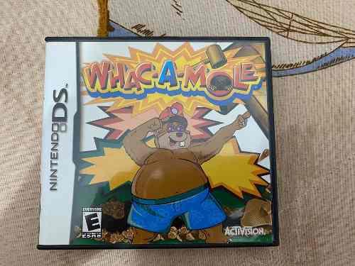 Juego Para Nintendo Ds Whack A Mole
