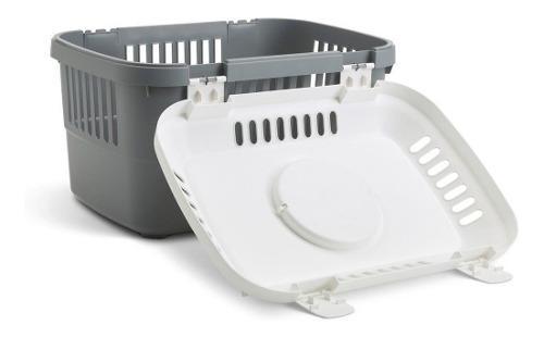 Transportadora discovery compact 5kg 2 platos y 5 sobres