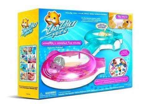 Zhu Zhu Pets - Funhouse Set Con Hamster Por Zhu Zhu Pets