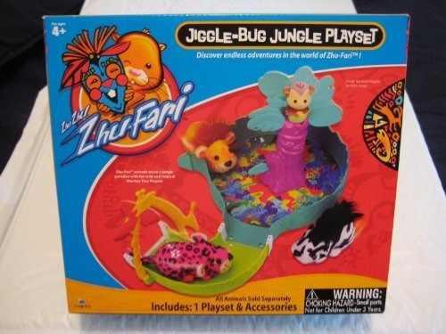 Zhu-fari Zhu Zhu Jiggle-bug Jungle Playset