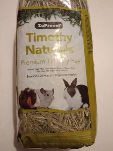 Zupreem heno pasto timothy 397g conejos cuyos chinchillas