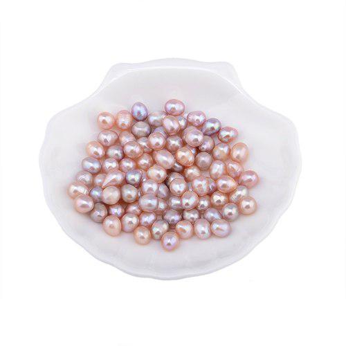 20 cuentas sueltas de perlas naturales de agua dulce de 7 a