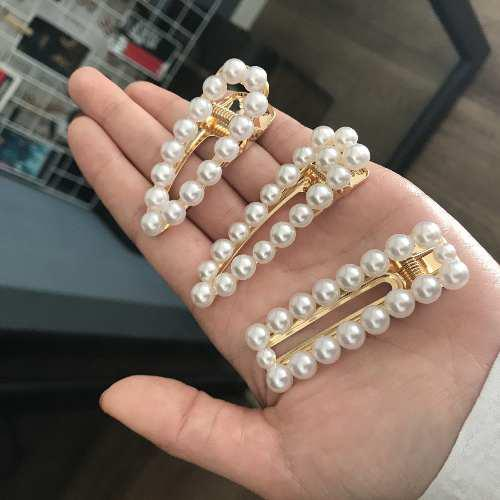 Accesorios para el cabello perla ins perla corea red hueco