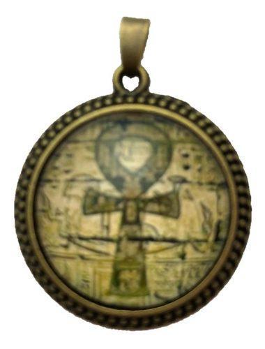 Colgante Unisex De Ankh, Cruz Egipcia O De La Vida, Amuleto