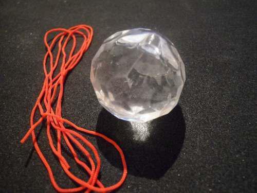 Esferas cristal facetada feng shui armonizar la energia 4 cm