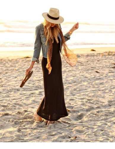 Hombre mujer moda solar sombrero de panama de estilo playa