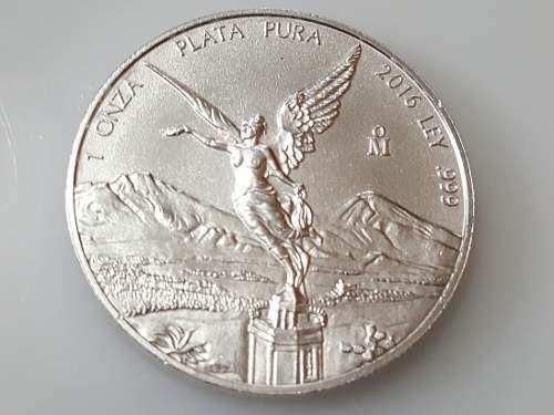 Moneda 1 onza plata libertad 2016 con opcion mercado envios