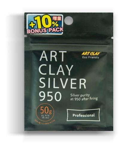Plata moldeable art clay ley 950 - 50 gr