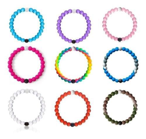 Pulsera lokai brazalete silicon, tallas y colores a elegir