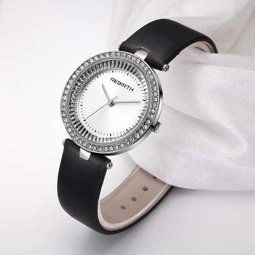 Rebirth fashion luxury women prata negra
