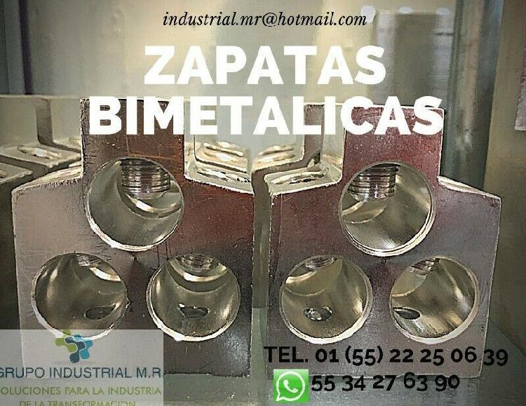 Zapatas bimetálicas