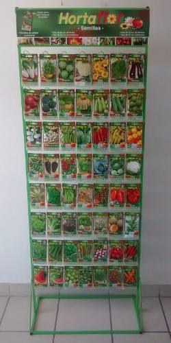 10 sobres de semilla hortaflor