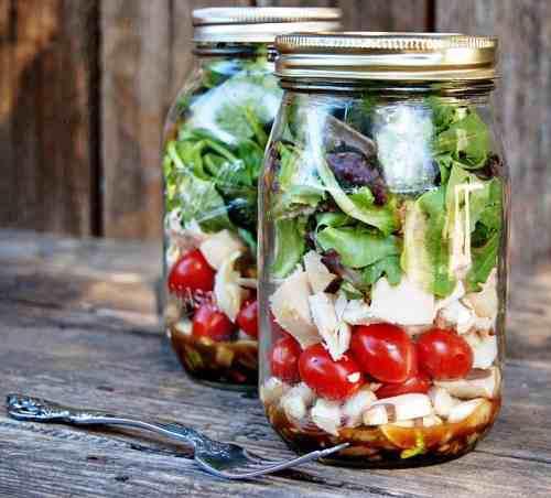 Ags tarro conservas lunch 16 onzas (48 piezas) cod. jardin