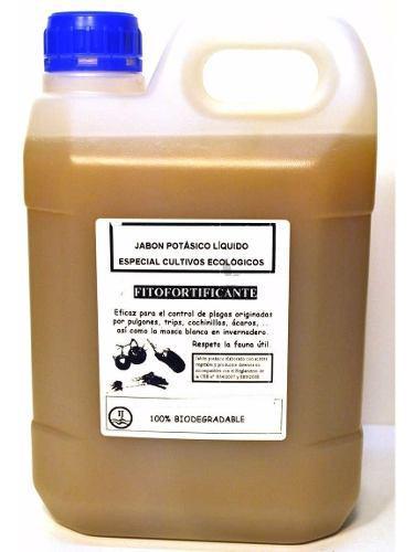 Jabon potasico 4 litros