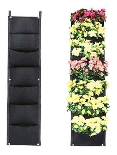 Jardín vertical follaje natural muros verdes 2x1