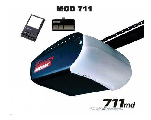 Motor merik 711 incluye riel 2,40mts !silencioso! completo!
