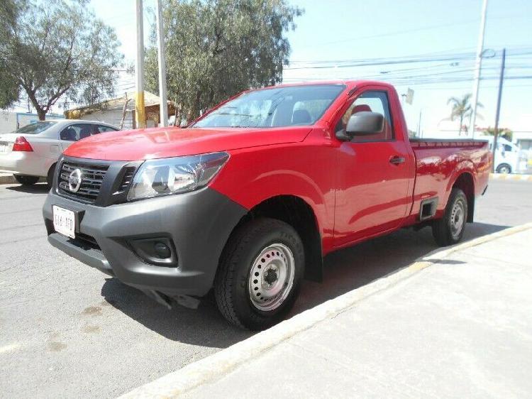 Pick up nissan np300 cab reg., mod. 2016, color rojo,