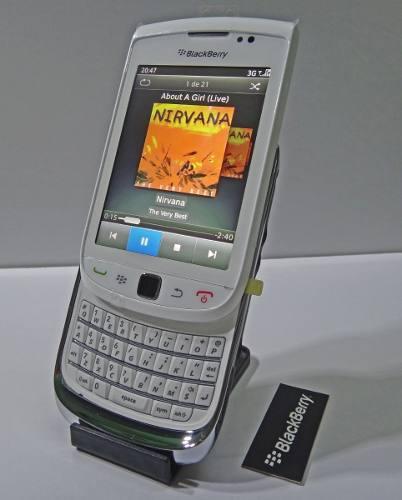Blackberry deslizable (desbloqueado) + cartera blanca