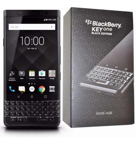 Blackberry keyone black, 64gb, 1 sim funda gratis (fedorimx)