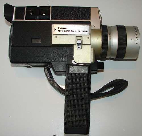 Camara filmadora antigua canon autozoom 814 - no envios