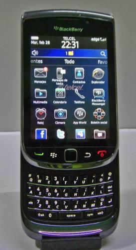 Celular blackberry torch 9800 (telcel) nuev0 + funda