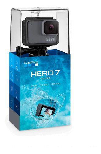 Gopro hero 7 silver videocamara deportiva action cam 10mp 4k