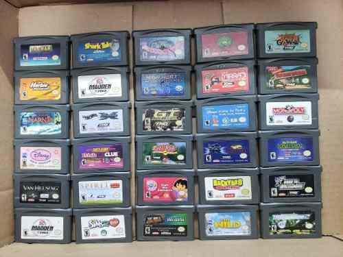 Lote de 62 juegos gameboy, gamebiy color y gameboy advance