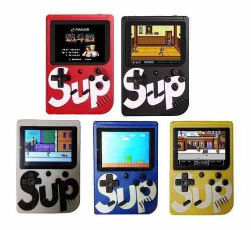 Mini consola portátil sup, tipo gameboy con 420 juegos