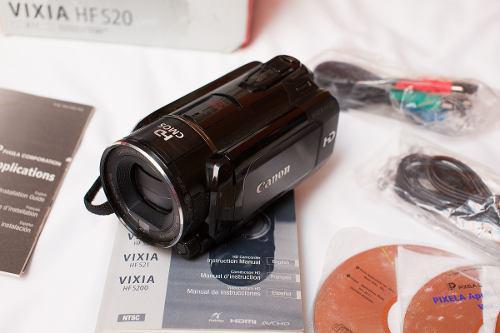Videocámara Canon Hf S20 Y Extras Sony Panasonic Nikon Fuji