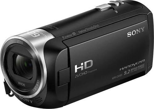 Videocámara sony handycam hdr cx405 9.2mp cmos full hd
