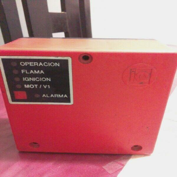 control de flama modelo tac 7800