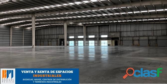 Renta de bodega industrial de 1,400 m2 en lerma
