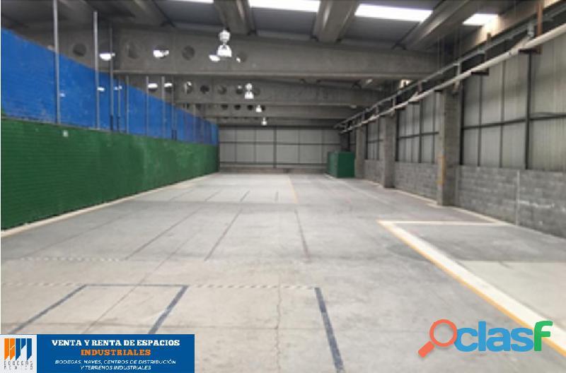 Renta de bodega industrial de 870 m2 en ocoyoacac