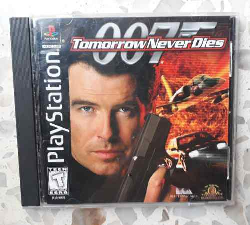 007 tommorrow never dies, play station 1